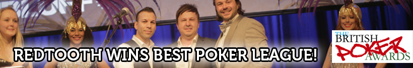 Redtooth is the Best Poker League! - Click for more info!